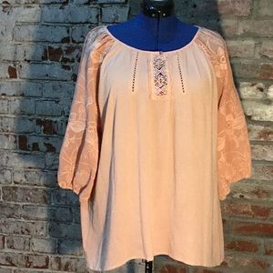Romantic rose top